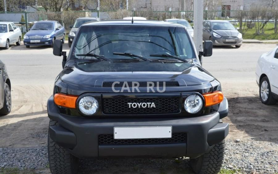 Toyota FJ Cruiser, Архангельск