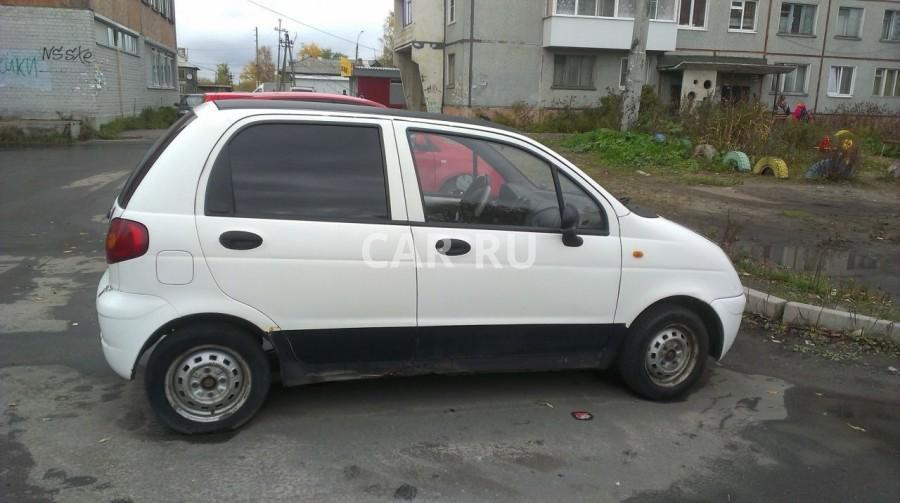 Daewoo Matiz, Архангельск
