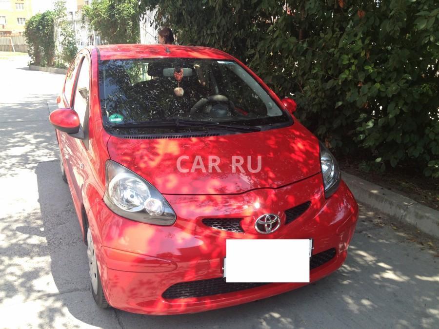 Toyota Aygo, Анапа