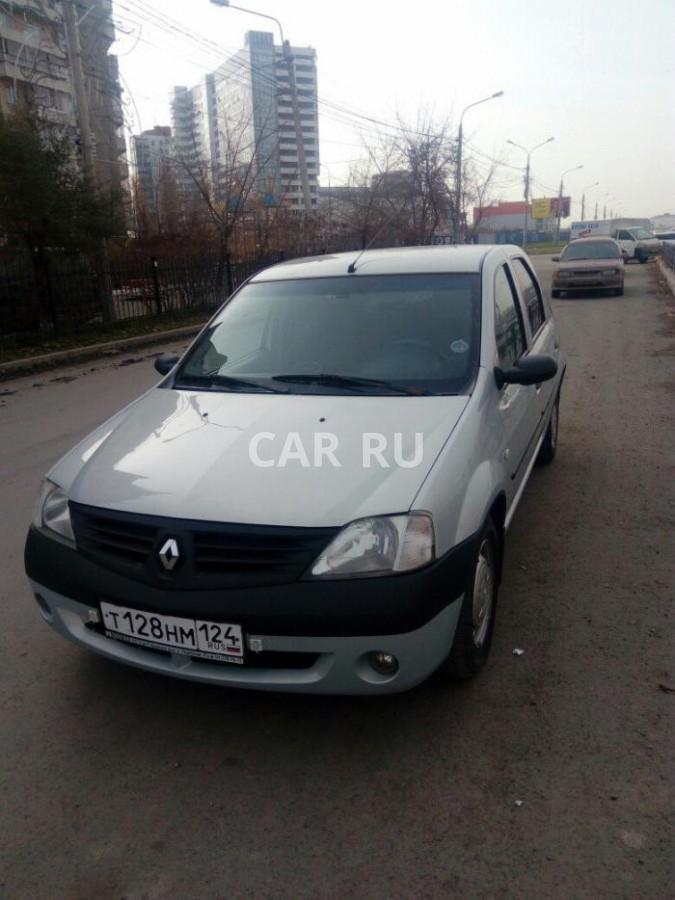 Renault Logan, Красноярск