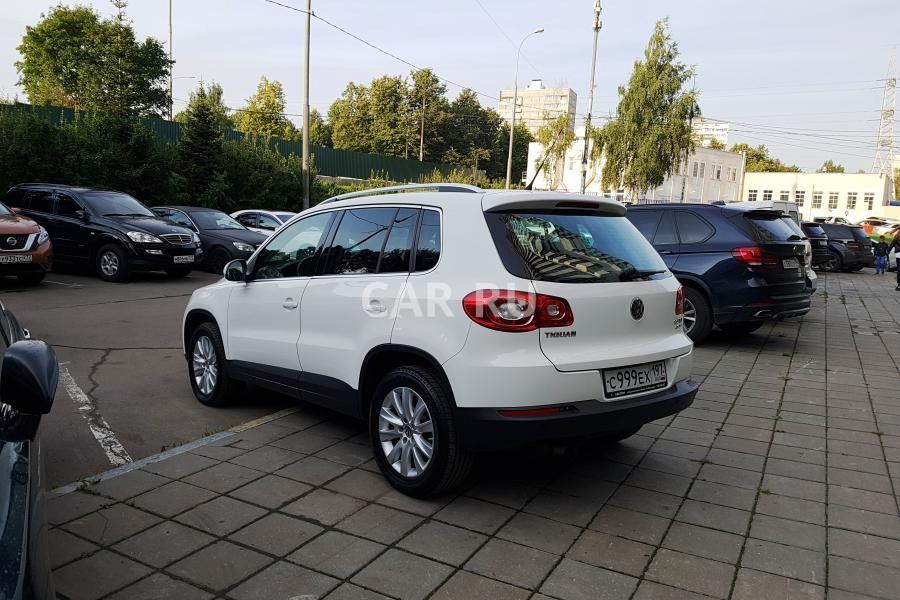 Volkswagen Tiguan, Москва