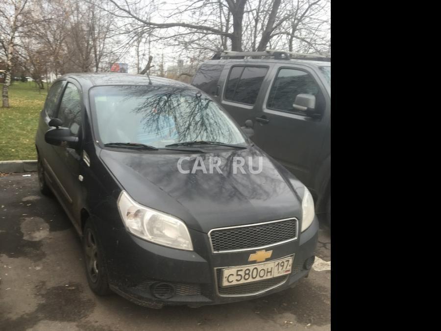 Chevrolet Aveo, Москва