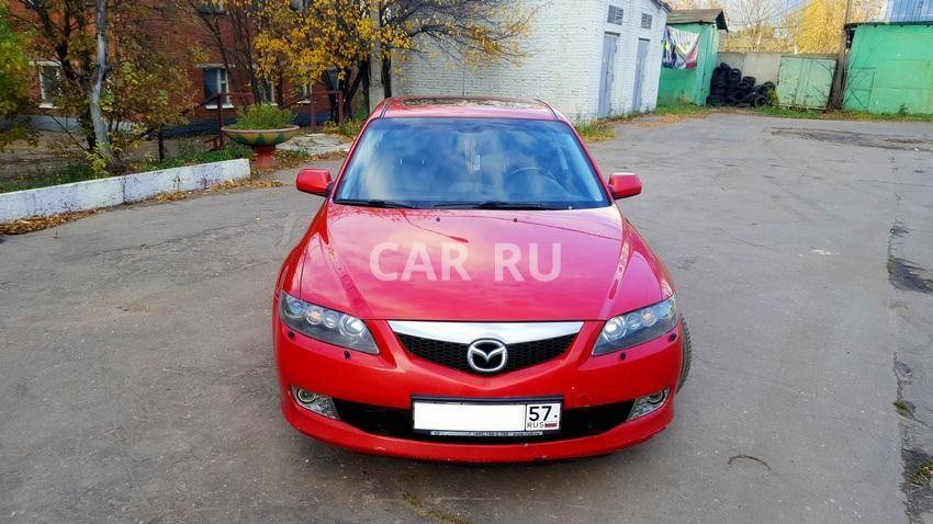 Mazda 6, Москва