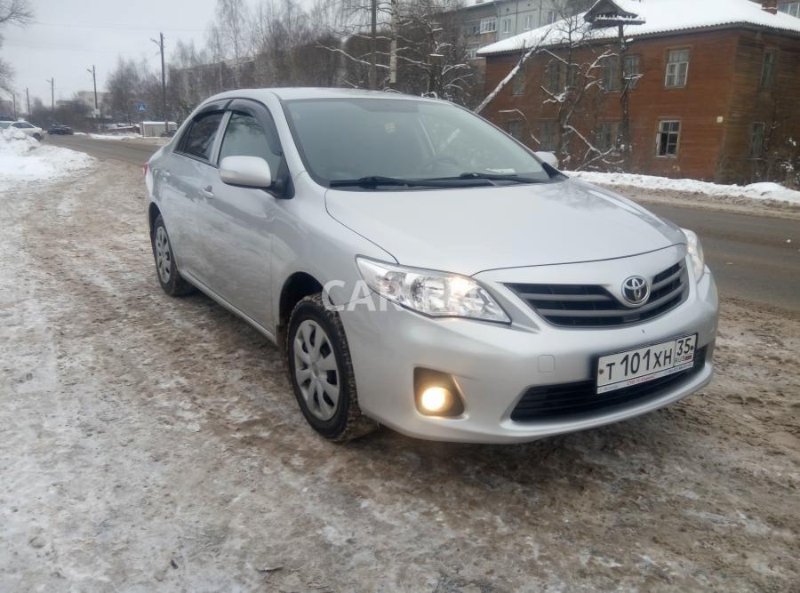 Toyota Corolla, Вологда