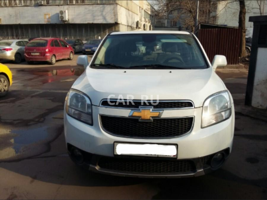 Chevrolet Orlando, Москва