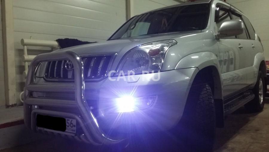 Toyota Land Cruiser Prado, Ташла
