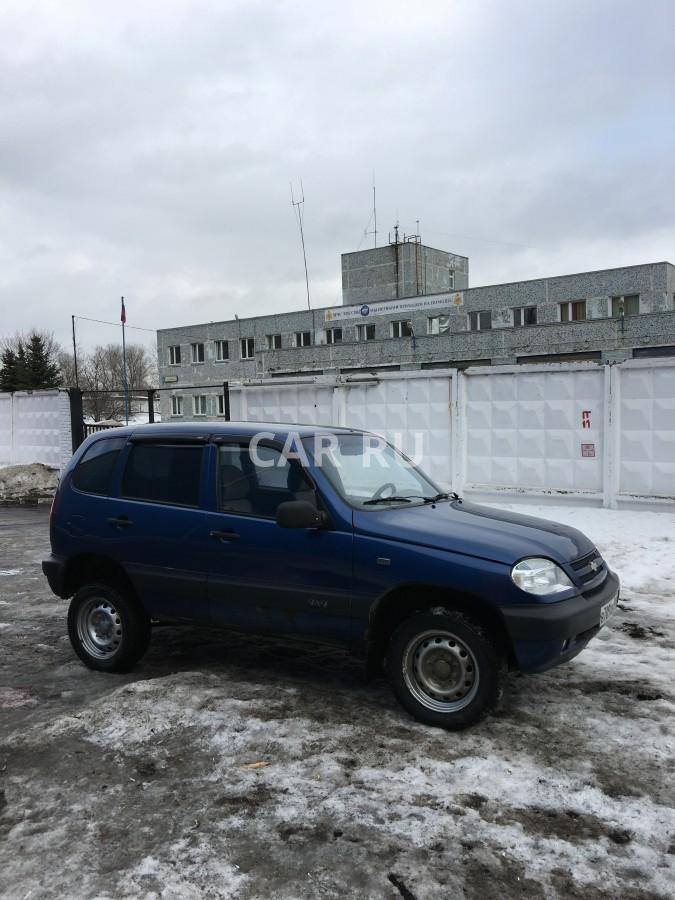Chevrolet Niva, Москва