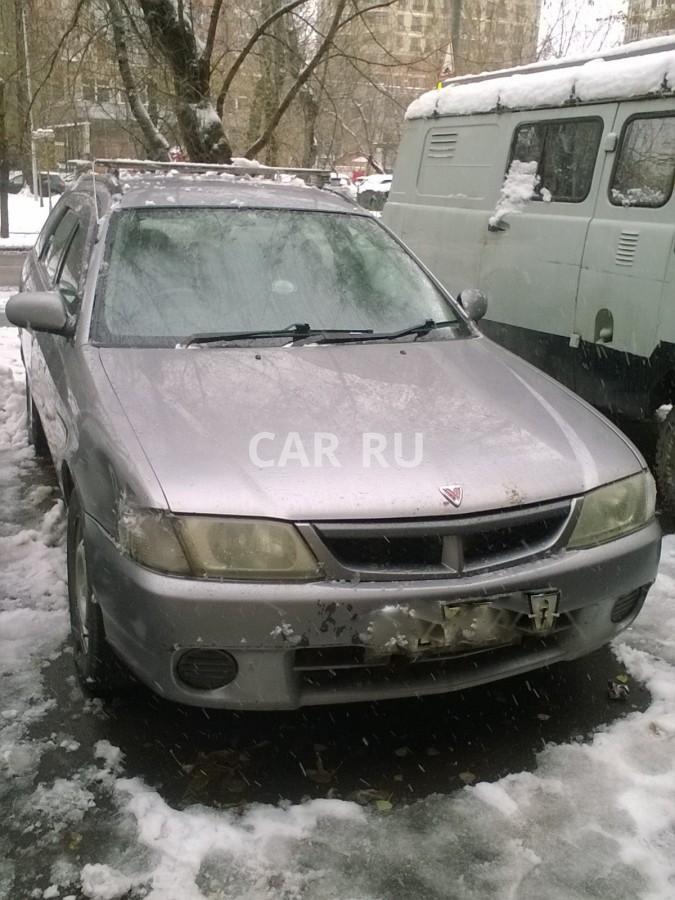 Nissan Wingroad, Москва