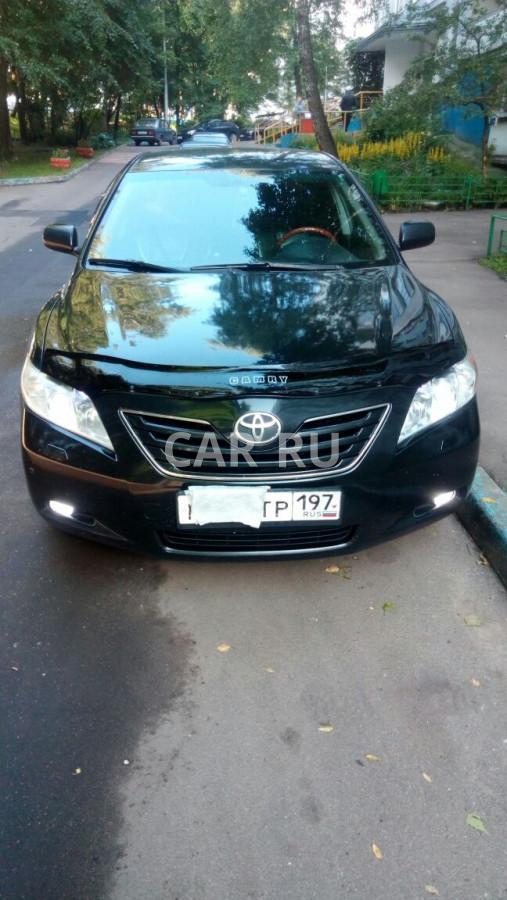 Toyota Camry, Москва