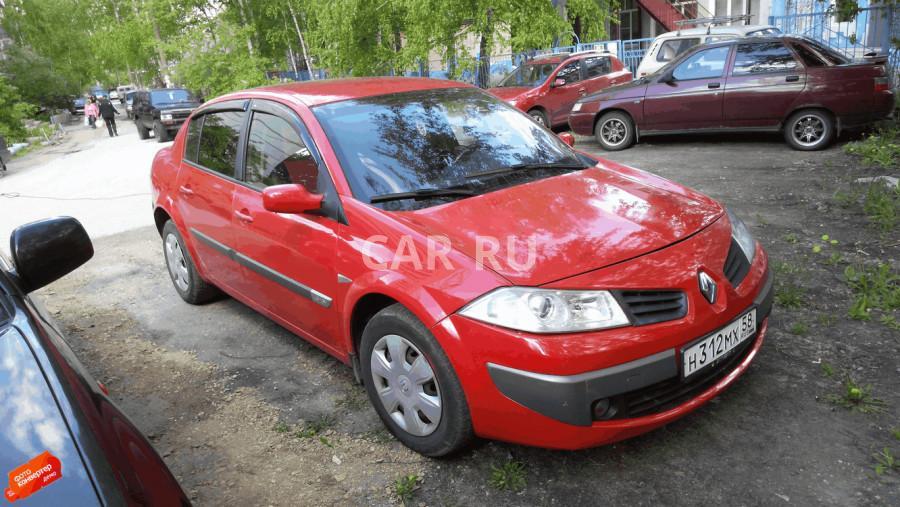 Renault Megane, Пенза
