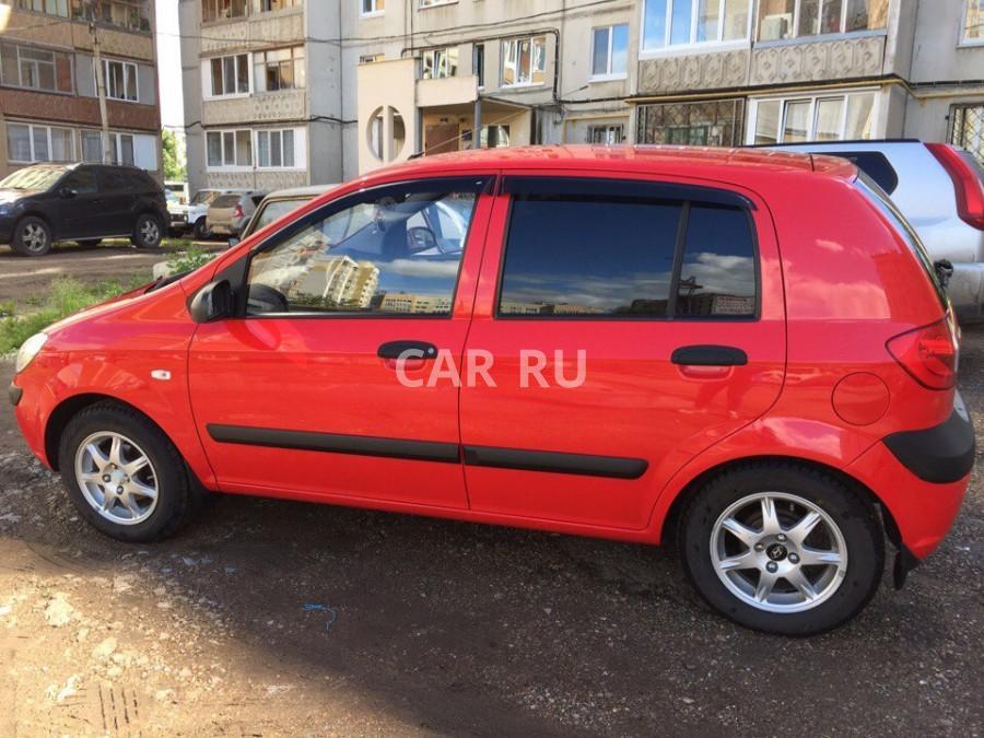 Hyundai Getz, Уфа