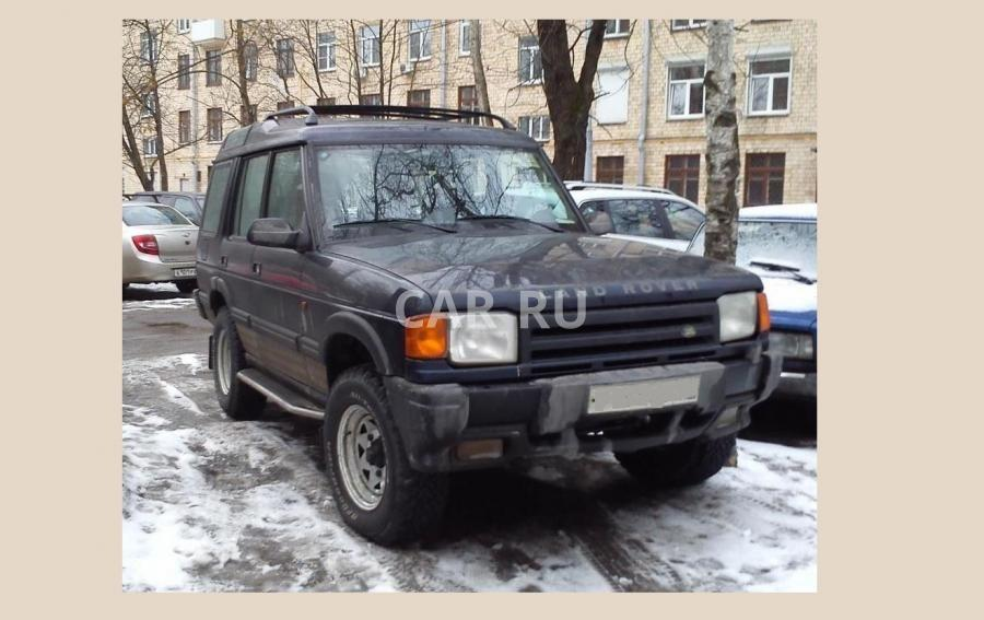 Land Rover Discovery, Москва