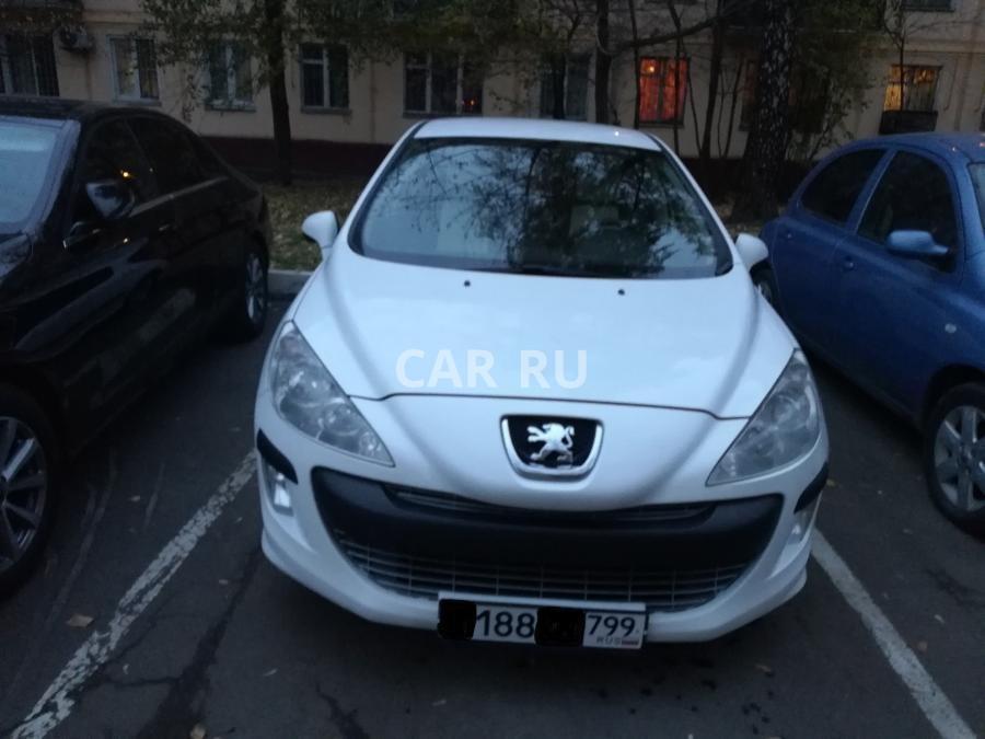 Peugeot 308, Москва