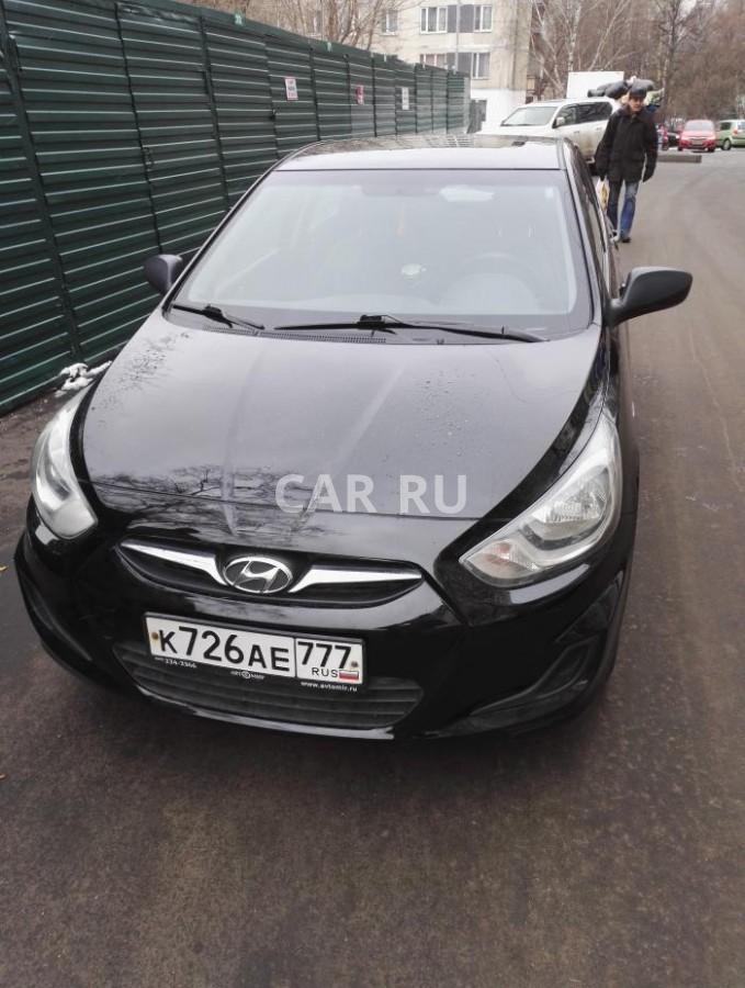 Hyundai Solaris, Москва