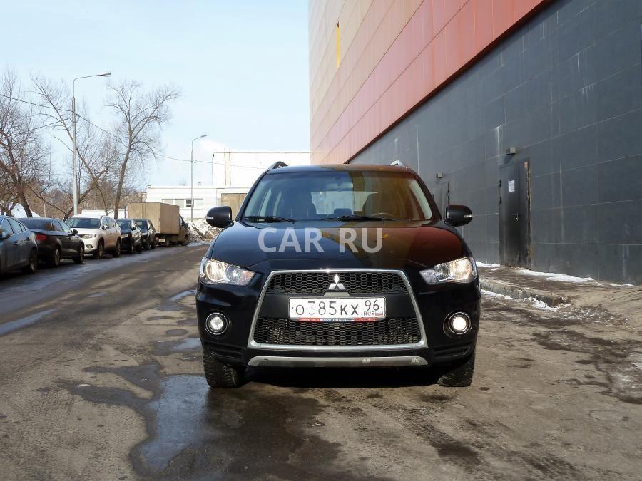 Mitsubishi Outlander, Москва