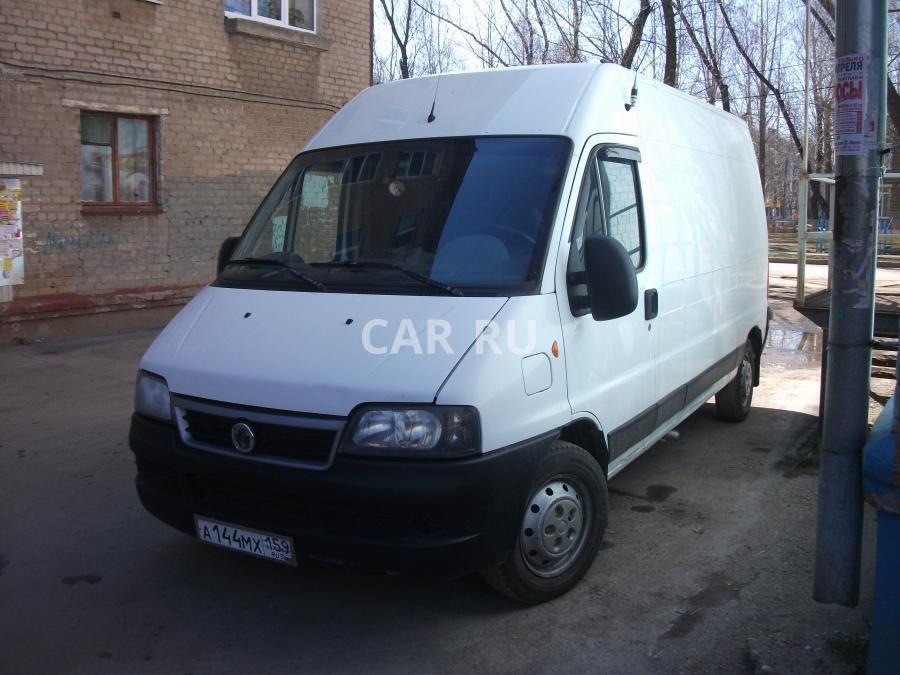 fiat ducato ii фургон 2011 отзывы