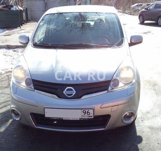 Nissan Note, Екатеринбург