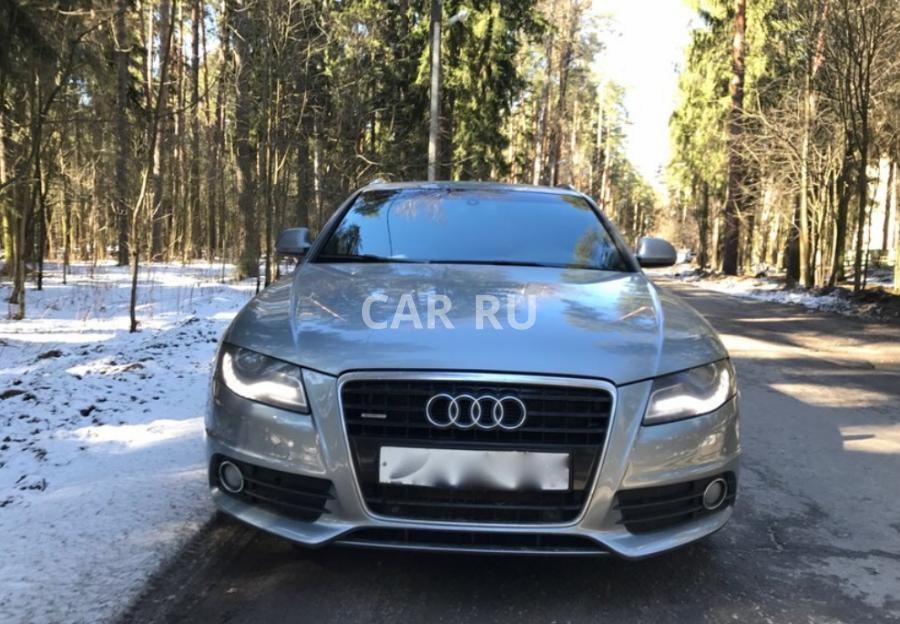 Audi A4, Москва