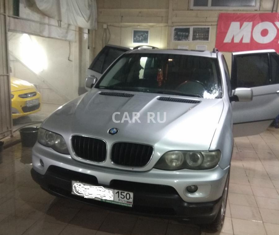 BMW X5, Москва