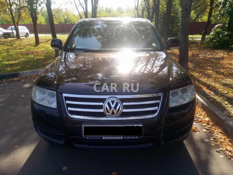 Volkswagen Touareg, Москва