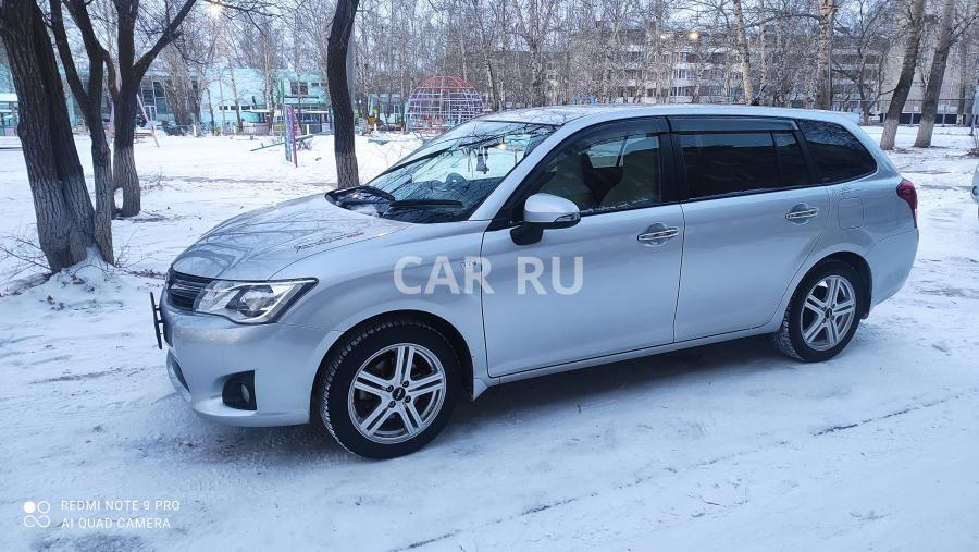 Toyota Corolla Fielder, Краснокаменск