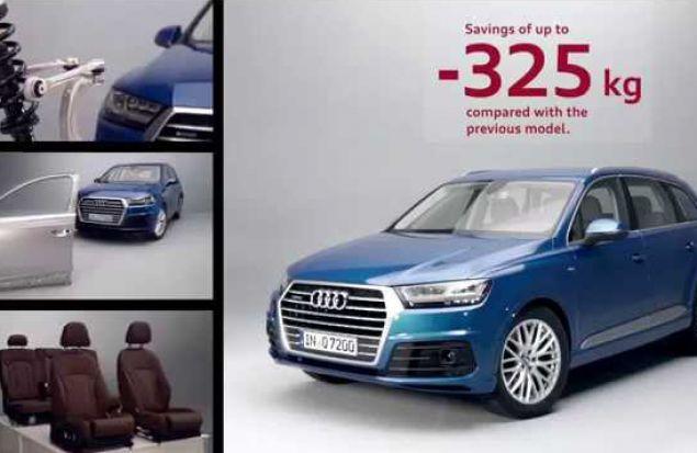 Нюансы лёгкой конструкции нового Audi Q7