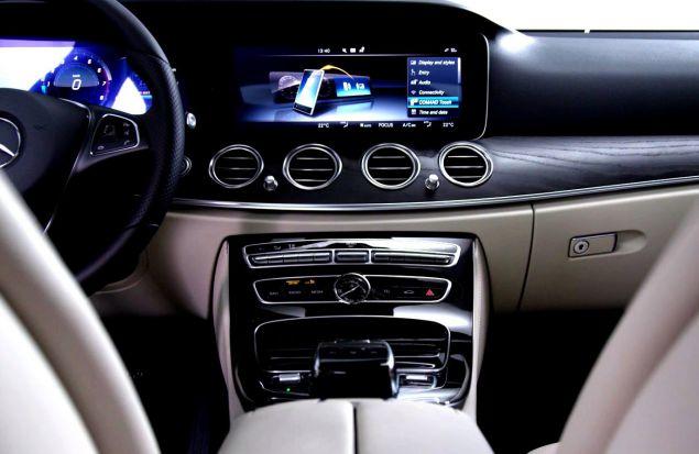 Интерьер нового Mercedes-Benz E-Class