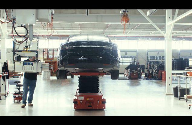 Завод Tesla в Тильбурге