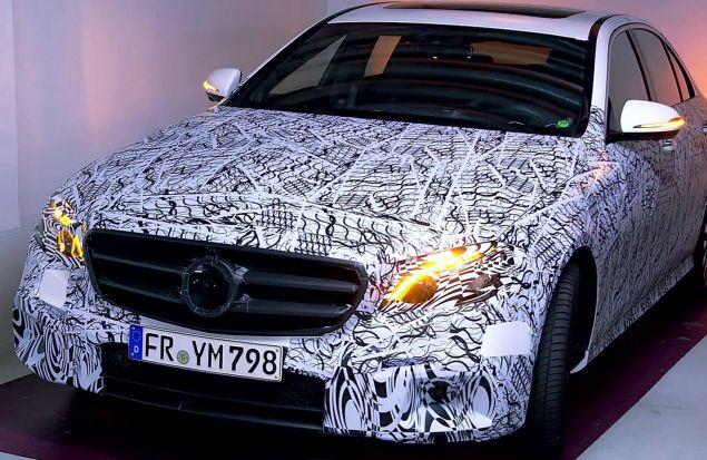 Технологии нового Mercedes-Benz E-Class