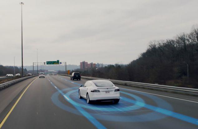Автопилот для Tesla