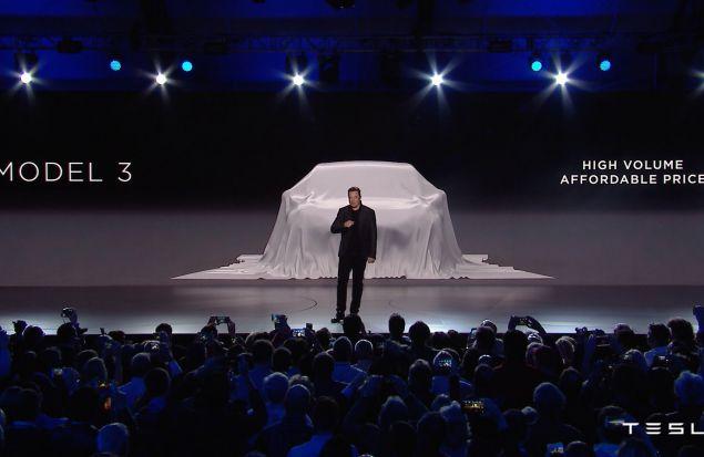 Премьера Model 3