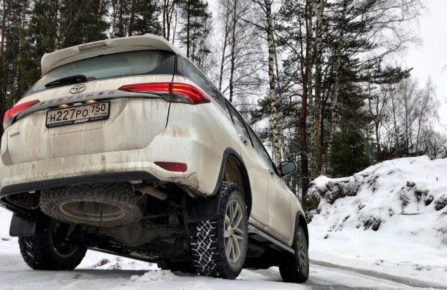 Toyota Fortuner 2018 Тест Драйв — Когда нет асфальта