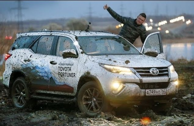 Toyota Fortuner 2017 тест / Не Бойся Pajero Тест-Драйв Игорь Бурцев