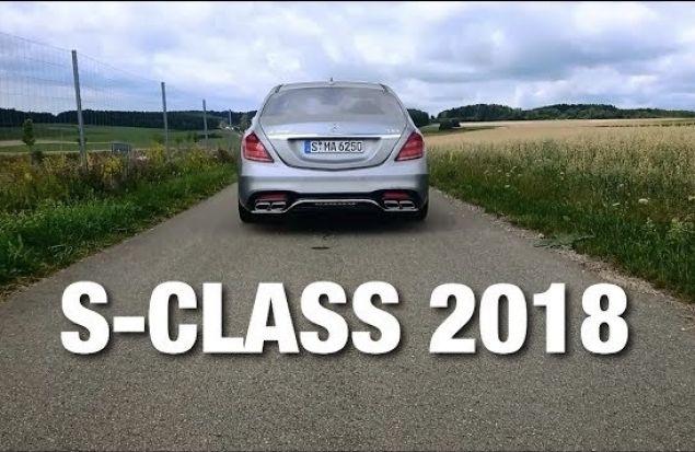 Тест-Драйв Mercedes S-Class 2018, S63 AMG Biturbo 4Matic+