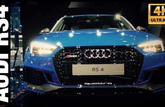 AUDI RS4 2018 Обзор   450л.с. 600Hm
