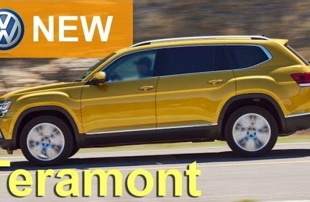 Volkswagen TERAMONT 2018 СКОРО В РФ — обзор Александра Михельсона