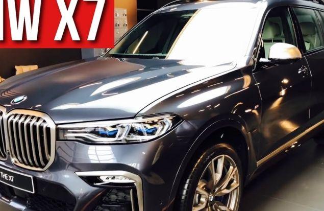 Обзор первого в России BMW X7 2019 модели