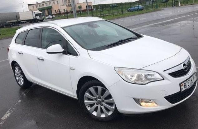 Opel Astra один из самых стильных автомобилей в своем классе.