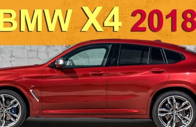 New BMW X4 2018 %F0% 9 °F%93%A3 обзор Александра Михельсона