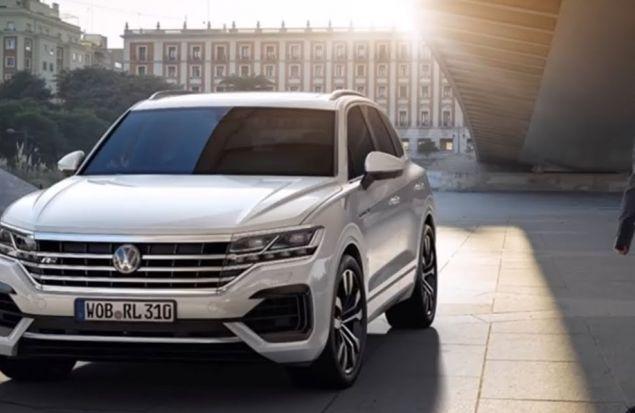 Volkswagen Touareg 2019 Обзор — Дорого и Богато