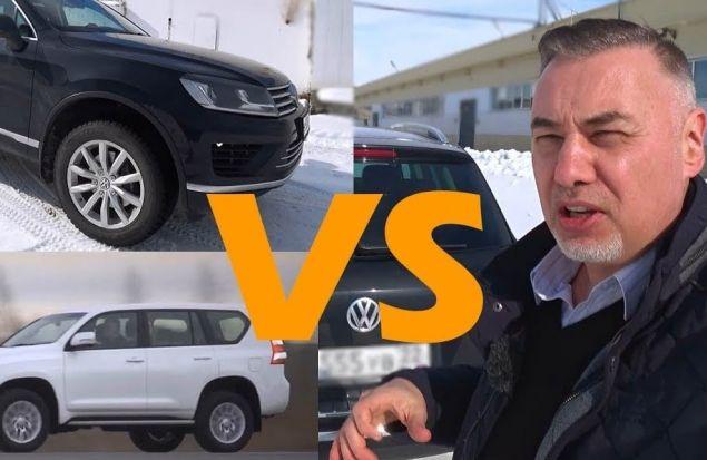 Выбор внедорожника с пробегом до 2 млн ₽ — победил Volkswagen Touareg — обзор Александра Михельсона
