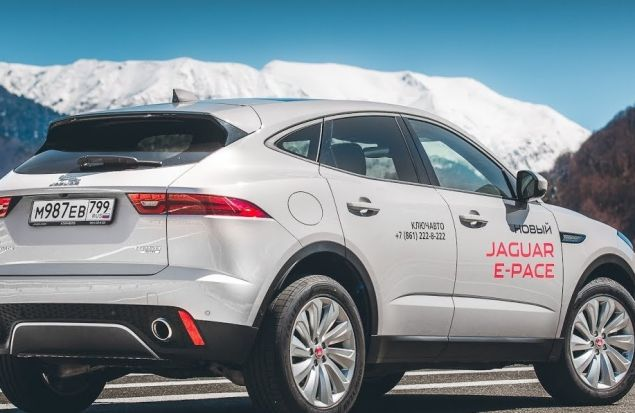 Jaguar E-Pace Тест Драйв Игорь Бурцев. Кошку — Против Шерсти