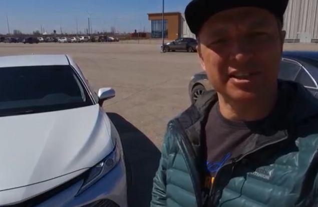 Новая Тойота Камри 2018 подъехала! Обзор Игоря Бурцева