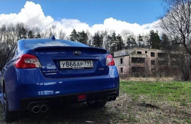 ПРИВЕТ, ЛИХИЕ 90-е! Subaru Impreza WRX 2018 Тест Драйв и Обзор