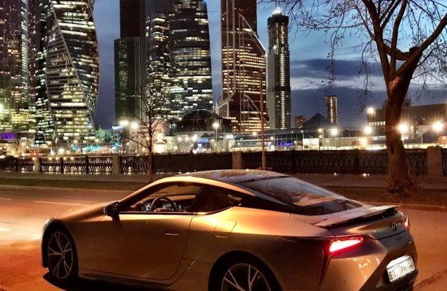 Не Lamborghini но уже близко! Lexus LC500 2018 Тест Драйв