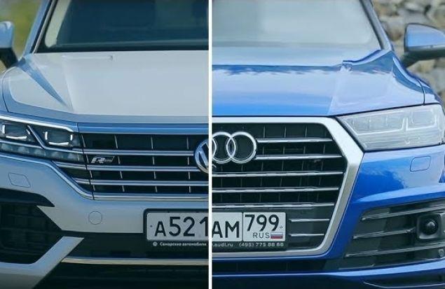 VW Touareg 2019 или Audi Q7: Выбираем Большой Кроссовер LUXE. Сравнение Игорь Бурцев