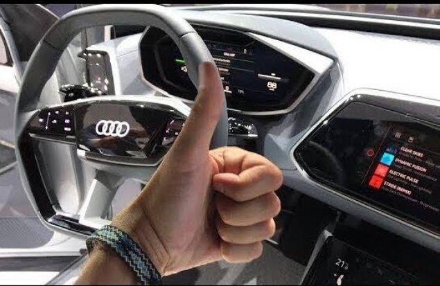 Audi E-Tron Обзор и Отзывы. В России в 2019. Электрический Audi Q8