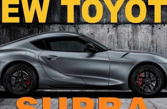TOYOTA SUPRA 2019 - КЛОН BMW Z4 в новом обличии - обзор Александна Михельсона