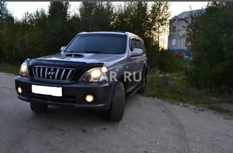 Hyundai Terracan, Архангельск