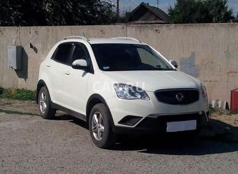 Ssang Yong Actyon, Анапа